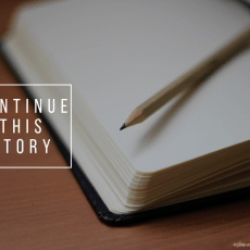 Writing Prompt Wednesday #4: Continue this Story